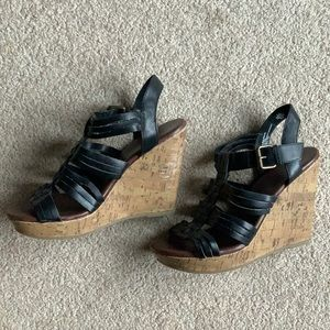 MOSSIMO SUPPLY CO wedge sandals